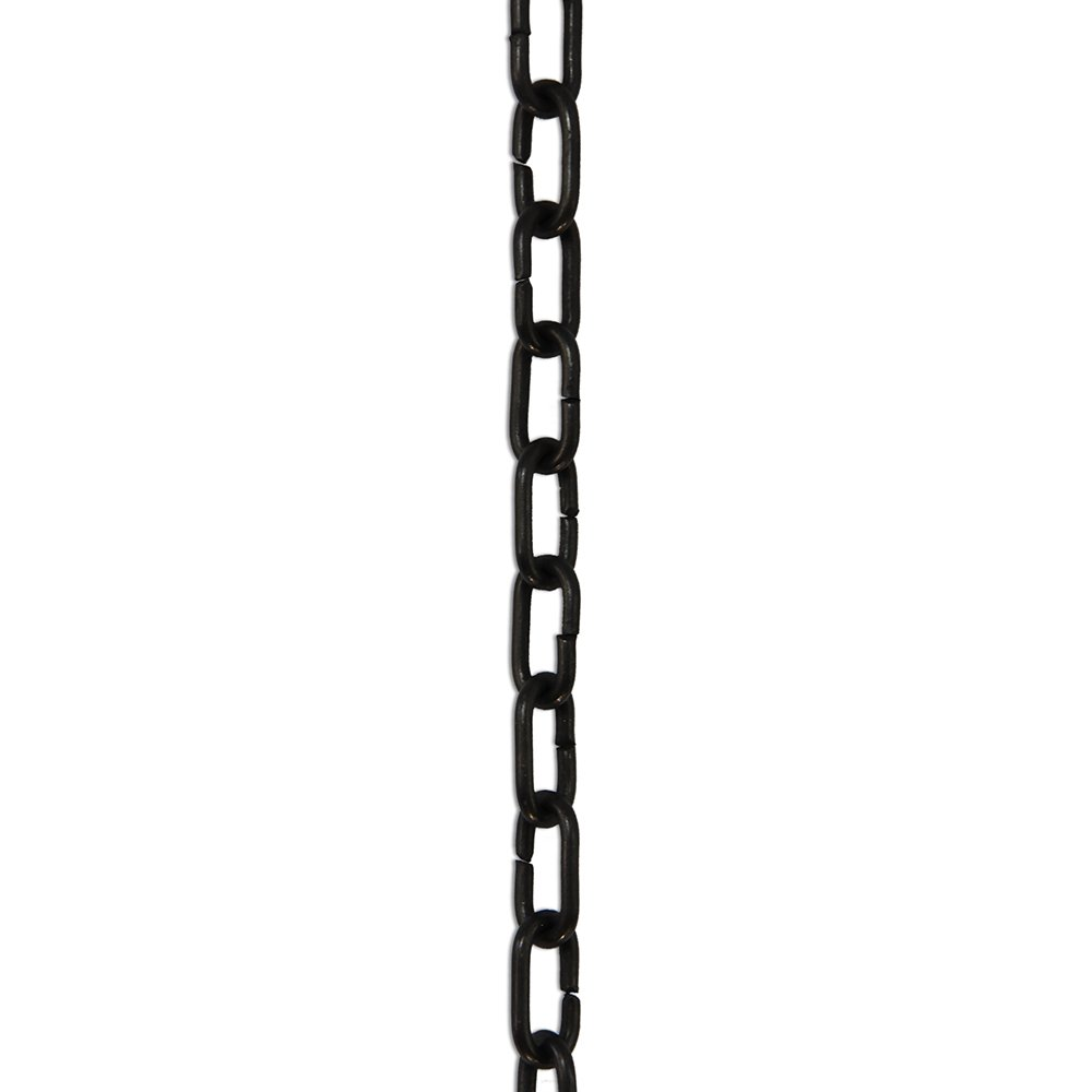 RCH Hardware CH-07-OBB-3 Decorative Polished Solid Chain for Hanging, Lighting-Standard Unwelded Links (3 ft/1 Yard) (Oil Bronzed Black)