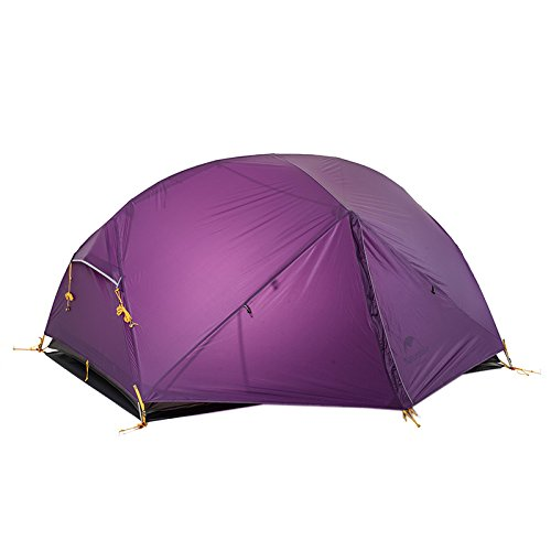 Naturehike 2 Person Outdoor Camping Tent Double-layer Waterproof 3 Season Tent
