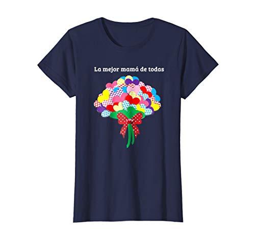 Womens La Mejor Mama De Todas Spanish Tshirt Women Female Gift