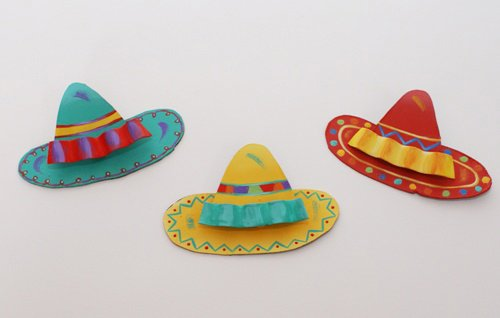 The Round Top Collection - Sombrero Trio Magnets/Asst. 3 - (Magnet Trio)