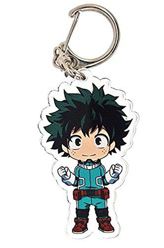 (Funky Store My Hero Academia Anime(Boku no Hero Academia) Manga Acrylic Keychain Izuku Midoriya,Katsuki Bakugo,Shoto Todoroki (Izuku Midoriya-KeyC))