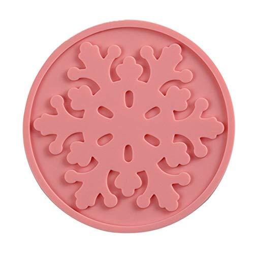 Fashion Silicone Heat Insulation Coffee Tea leaves Cup Mug Mat Pad Coaster Blue (Color - ()