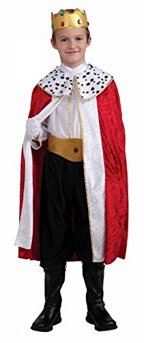 Forum Novelties Regal King Child Costume, - Costumes Novelty