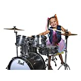 Roadshow Jr. 5 piece Drum Set w/Hardware and Cymbals