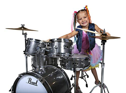 (Roadshow Jr. 5 piece Drum Set w/Hardware and Cymbals)