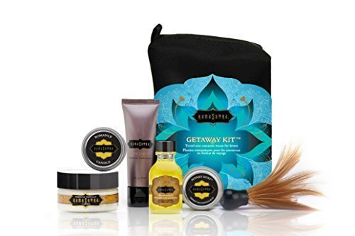 (Kama Sutra Intimate Gift Sets & Fun Travel Kits THE GETAWAY KIT (Escape to a romantic paradise with the essential travel kit for)