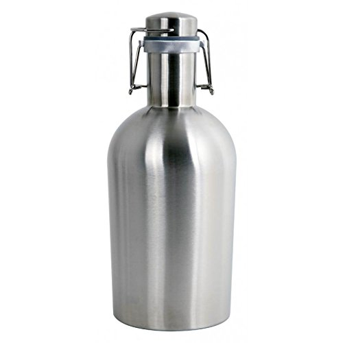 Alcraft Stainless Steel 64 Ounce Beer Growler, Silver by Alcraft (Image #4)