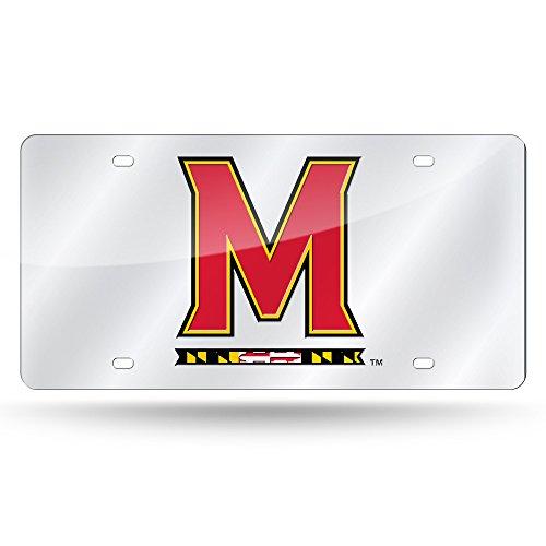 (Rico Industries NCAA Maryland Terrapins Laser Inlaid Metal License Plate Tag,)