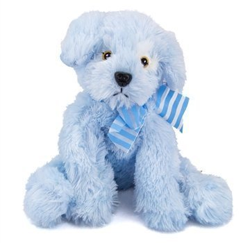 Amazon Com Pup E Dog 8 Soft Blue Puppy Dog Plush Stuffed Animal
