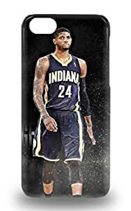Iphone Faddish NBA Indiana Pacers Paul George #13 Case Cover For Iphone 5c ( Custom Picture iPhone 6, iPhone 6 PLUS, iPhone 5, iPhone 5S, iPhone 5C, iPhone 4, iPhone 4S,Galaxy S6,Galaxy S5,Galaxy S4,Galaxy S3,Note 3,iPad Mini-Mini 2,iPad Air )
