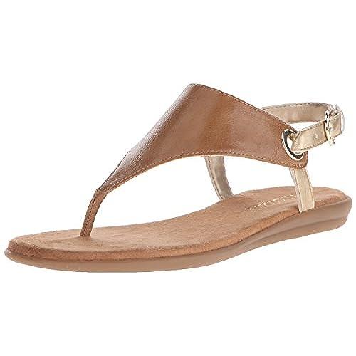Aerosoles Women's Conchlusion Gladiator Sandal, Tan Combo, 9 M US