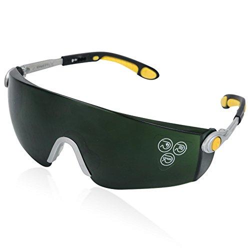 BESTVA UV400 Sunglasses for LED Grow Light Intense lighting Visual Eye - For Sunglasses Dry Eyes Indoors