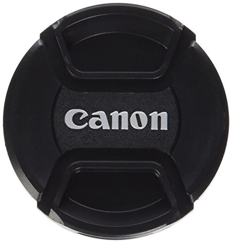 Generic 58mm Lens Cap For Canon Replaces E-58 II - Black - 58U