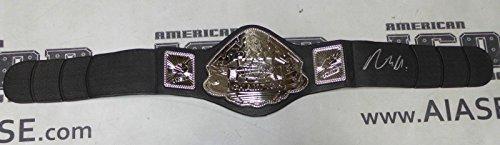 Rickson Gracie Signed Pride FC Toy Championship Belt COA Autograph UFC - PSA/DNA Certified - Autographed UFC Miscellaneous Products