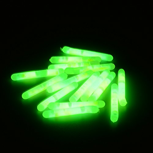 Small Glow Sticks Night Stick - 15Pcs 4.5x36mm Fishing Fluorescent Lightstick Light Night Float Rod Lights Dark Glow Stick - Night Stick Flashlight