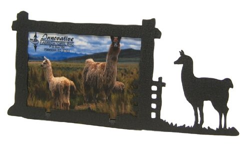 Llama 3X5 Horizontal Picture Frame by Innovative Fabricators, Inc.