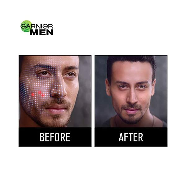 Garnier Men Acno Fight Anti-Pimple Facewash, 100gm 2021 July Goodness of Salicylic Actives & Herba Repair Controls Oil, Gel Based Dry Pimples
