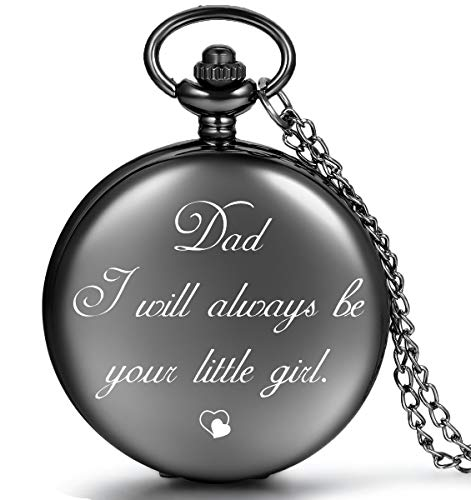 LEVONTA Best Dad Gifts from Daughter for Birthday, Personalized Gifts for Dad Christmas Valentines Day Fathers Day (Dad's Little Girl) by LEVONTA