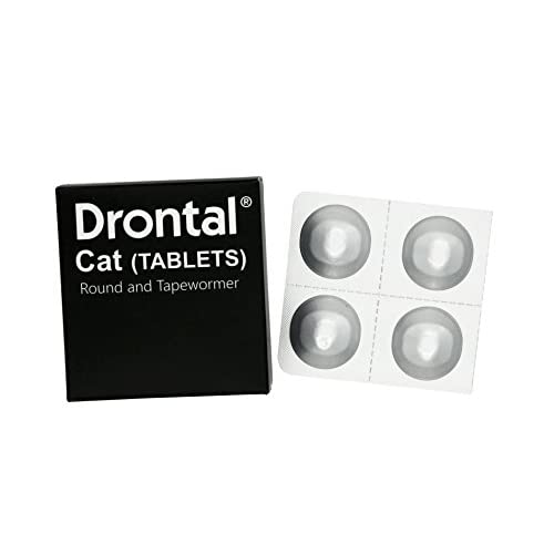 outlet Cat dewormer all worms ,Tapeworm and Round Worm , 4