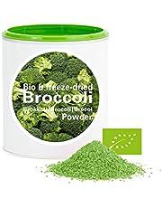 Brocoli en poudre - Lyophilisées|biologique|végan|crue|pure fruits|sans additives|riches en vitamins|Good Nutritions 120g