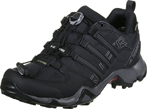 adidas Terrex Swift R Gtx W, Zapatos de Senderismo para Mujer, Negro (Nero Negbas/Negbas/Granit), 44 EU