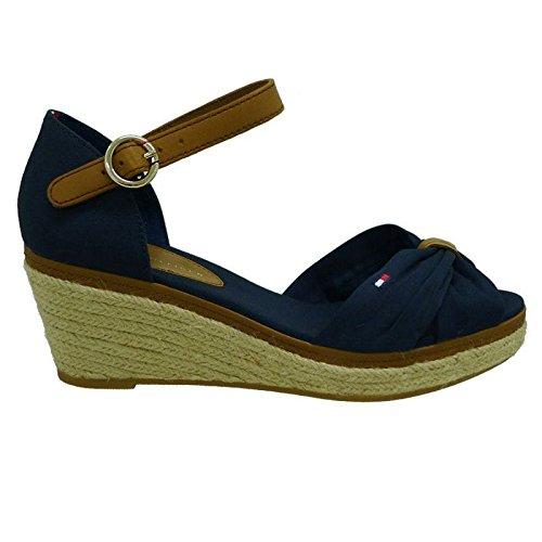Tommy Hilfiger Alpargatas Cáñamo Azul Marino 40D 403: Amazon.es: Zapatos y complementos