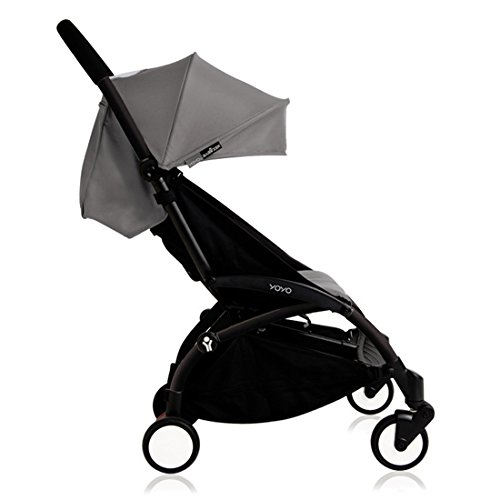 Babyzen YOYO+ Stroller - Black/Grey by Baby Zen