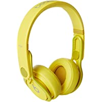 Beats by Dr. Dre On-Ear 3.5mm Wired DJ Headphones (Yellow) - Refurbished