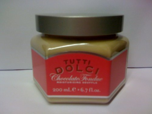 Bath & Body Works Tutti Dolci Chocolate Fondue Moisturizing Body Souffle