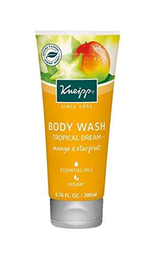 Kneipp Body Wash, Mango and Starfruit, 6.76 fl. Oz. (Body Wash Essential Kneipp Oils)