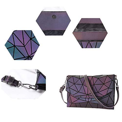 Clutch Luminous1 Pu Linger Varié Enveloppes Xingf Pour Lumineux Bandoulière Sac Fashion À Femme E7CwwxqTB