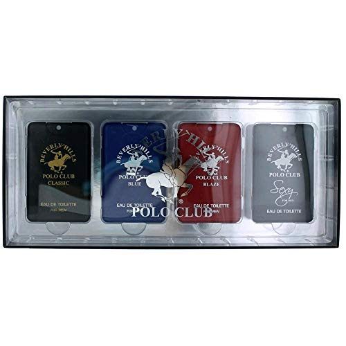 Beverly Hills Polo Club Pocket Collection by Beverly Hills Polo Club, 4 Piece Set for Men ()