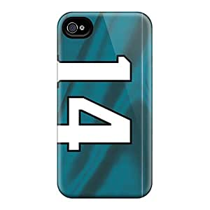 Shock-Absorbing Cell-phone Hard Cover For Iphone 6plus (omF16538lDqH) Customized Attractive Jacksonville Jaguars Series