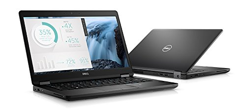 Dell 4K7HN Latitude 5480 Laptop, 14'' HD, Intel Core i5-7200U, 8GB DDR4, 256GB Solid State Drive, Windows 10 Pro by Dell
