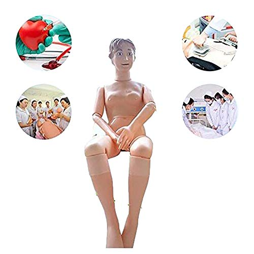 OPNG Multifunctional Nursing Training Manikin Model Mannequin Patient, Female for Nursing Medical Training Teaching & Education Supplies Life Size from OPNG