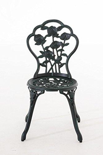CLP Chaise de Jardin Ganesha en Fonte d\'Aluminium | Hauteur ...