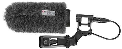Rycote Softie Windshield with 18cm Medium Hole with Mount and Pistol Grip Handle