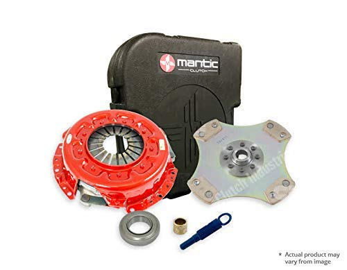 180SX/200SX/Silvia SR20 Clutch MS5-1231-BX Mantic S5 Kit with HD Cover Assembly| Full Cerametallic, No Cushion, Non Sprung (SC) Clutch Disc, Track Only|Release & Spigot bearing|Clutch Alignment Tool: