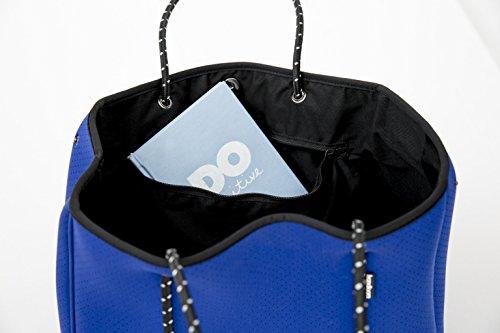 Large Neoprene Beach Tote Bag - Multipurpose with Matching Purse Inner Pocket by Handloom Homewares (Image #8)