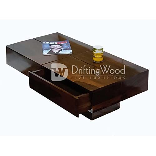 LD Driftingwood Sheesham Wood Tv StandCoffee Table for Living