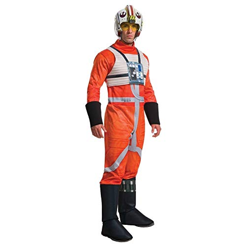 Star Wars X-Wing Fighter Pilot Mens Deluxe Costume, Med (38-40 jacket)
