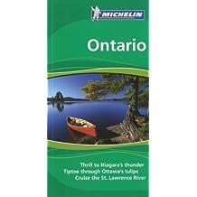 Michelin Ontario Green Guide