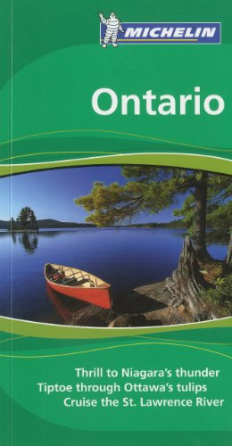 Michelin Green Guide Ontario, 1e (Green Guide/Michelin)