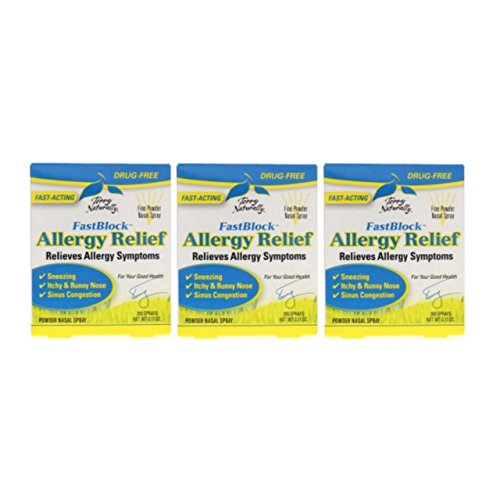 Europharma /Terry Naturally Fast Block Allergy Relief -0.17 oz -3 Pack -  2077832