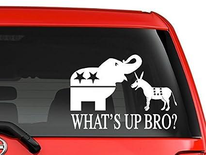 Amazon Yourchoicedecals Political Parties Republican Democratic