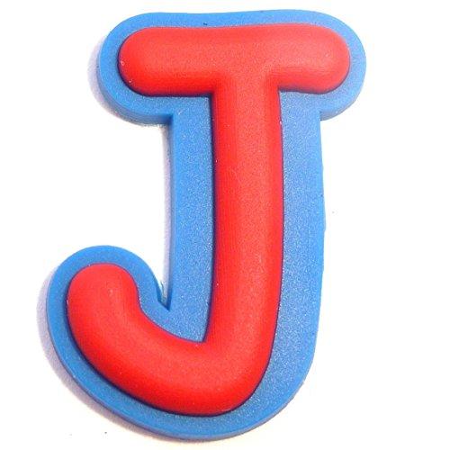 Letter J Shoe Rubber Charm Jibbitz Croc Style