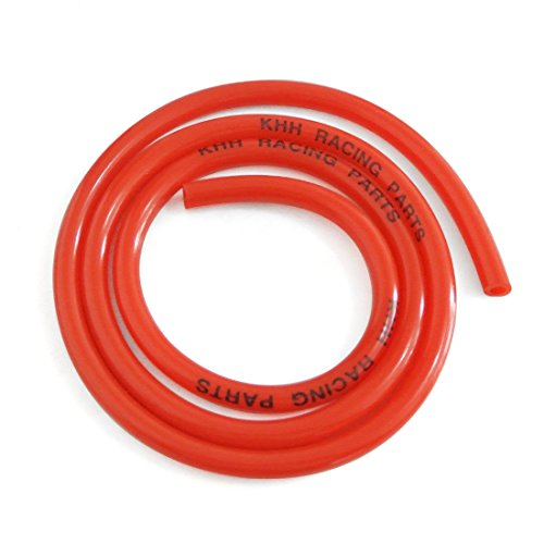 Suzuki Fuel Line (JRL Red Fuel Line Hose Tube 5mm Fit For Honda Suzuki 50-250cc ATV Quad Pit Bike)