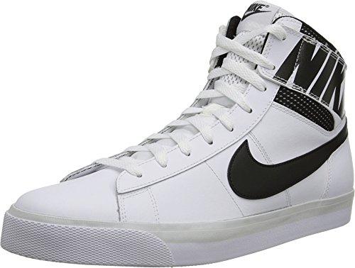Nike Men's Match Supreme Hi White/Black/Light Base Grey/Black 13 D - Medium