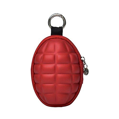 Grenade Bag - Kaxich Grenade Car Key Case Coin Purse Wallet Zipper Keys Organizer Bag