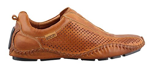 Pikolinos Fuencarral Perforato Mens Slip On Brandy